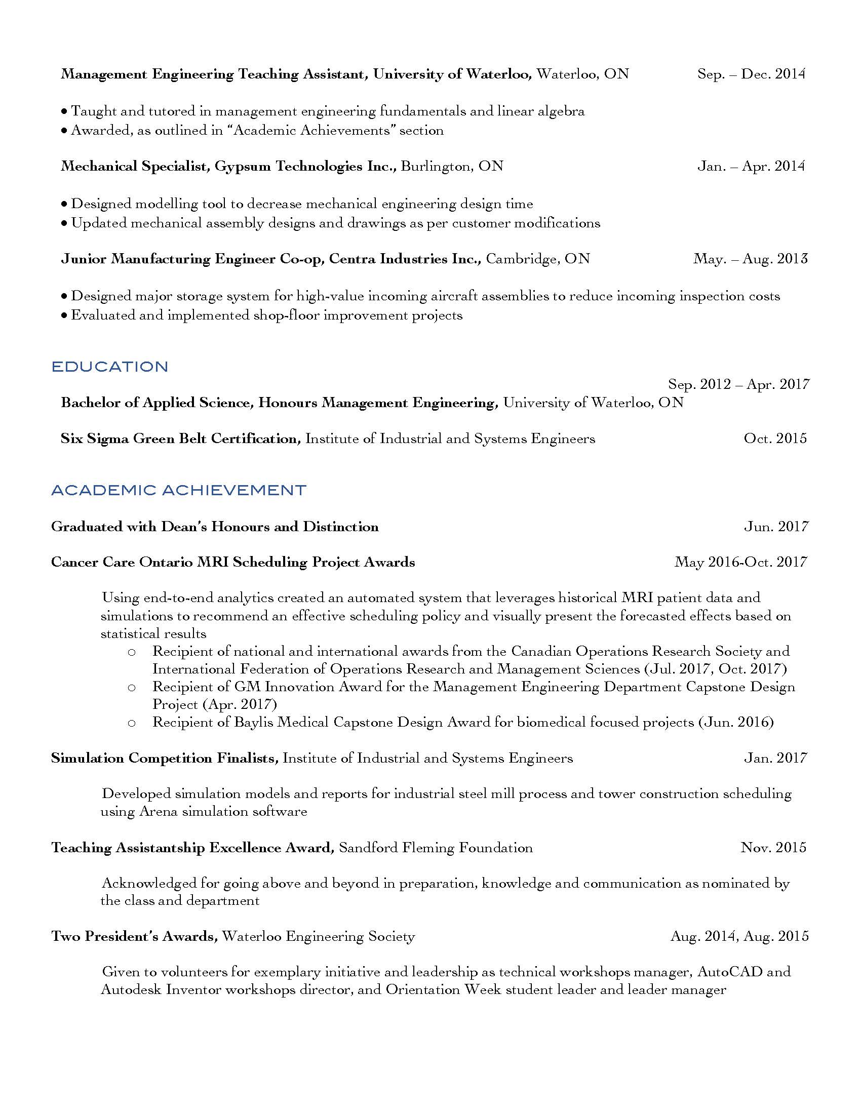 Christian Gould Manufacturing Quality Engineering Resume_IKON_Page_2